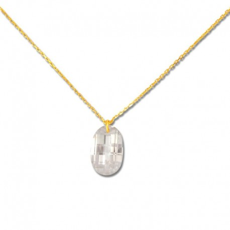 Collier or 375/1000 oxyde