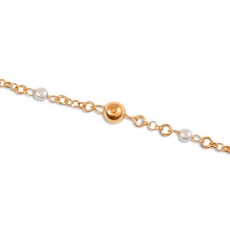 Bracelet argent perles de culture