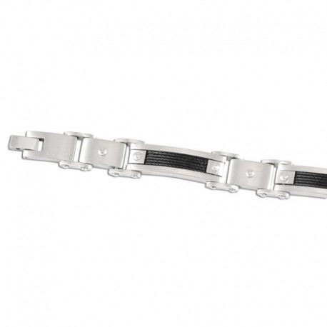 Bracelet acier câble