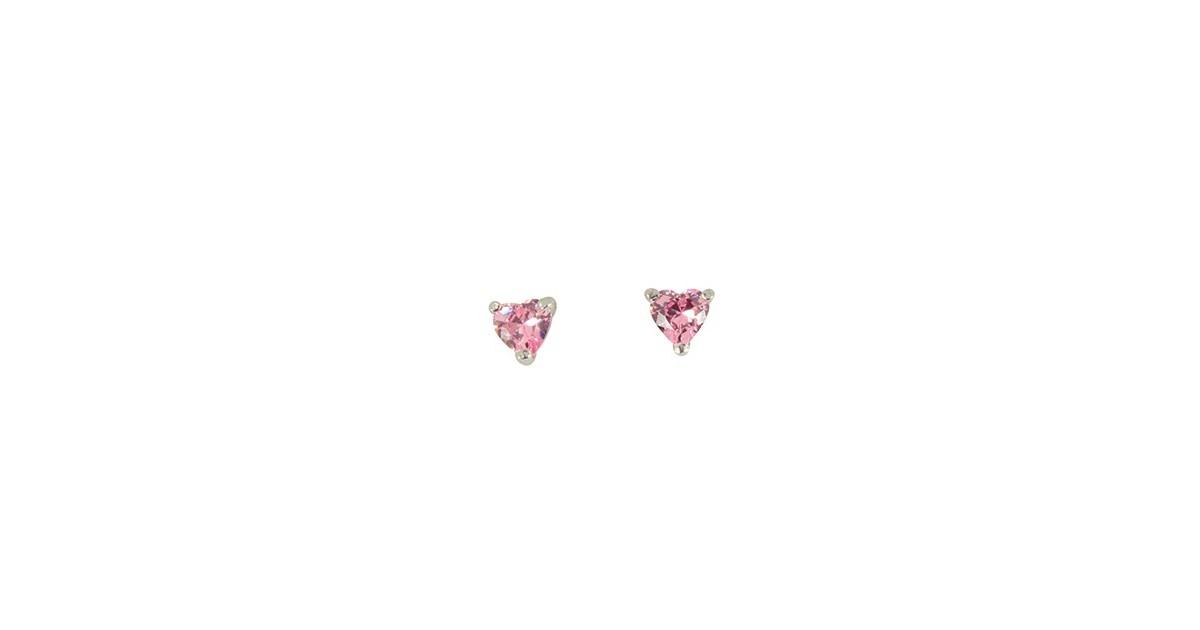 Boucles d'oreilles argent triangle