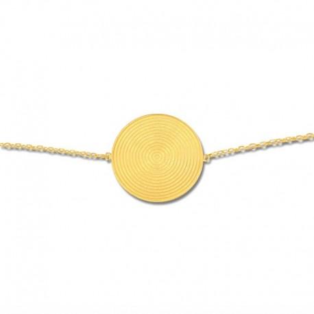 Bracelet plaqué or fantaisie