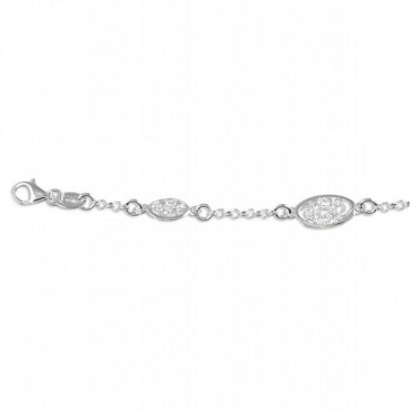 Bracelet argent filigrane