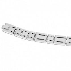 Bracelet acier articulé epais