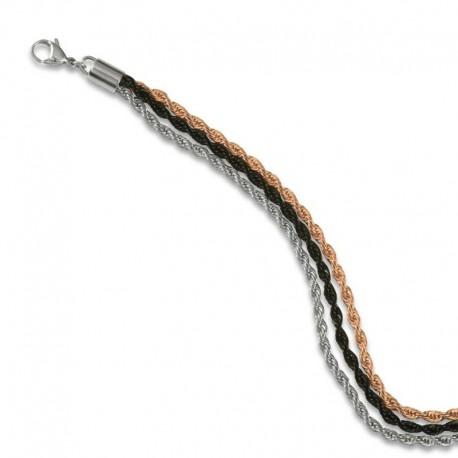 Bracelet corde tricolore