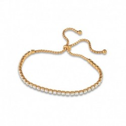 Bracelet coulissant cristal