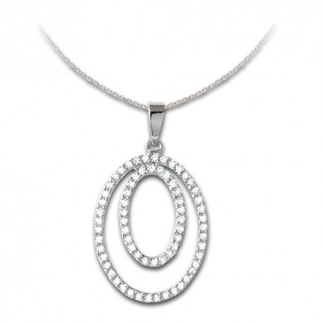 Pendentif or 9 carats oxydes